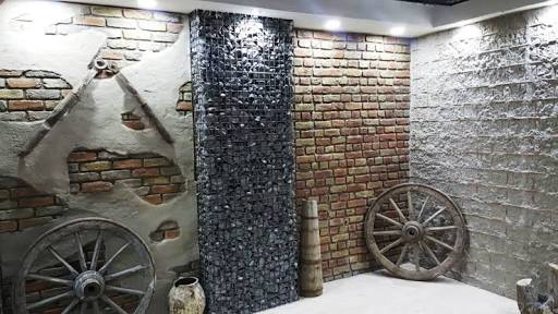 Ladrillo Cemento Tuğla Panel Uygulama