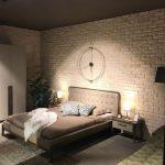 Barok Tuğla Krem Modeli Yatak Odası Tuğla Duvar Kaplama Uygulaması