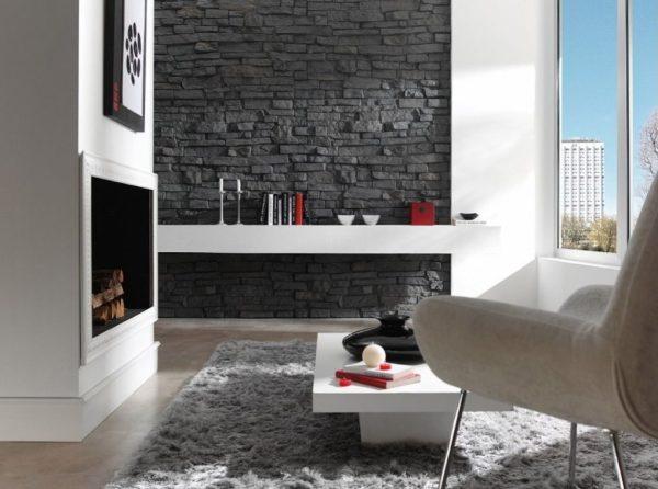 Piedra Taş Duvar Panelleri Negra