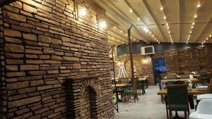 Dekoratif Kültür Taşı Cafe Restorant Taş Cephe Kaplama Modeli La Rinconada Marron