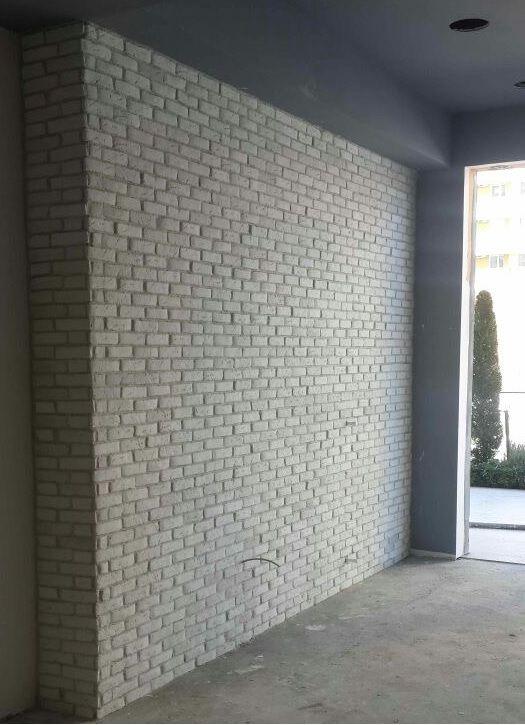 Dekoratif Tuğla Duvar Kaplama Uygulamaları