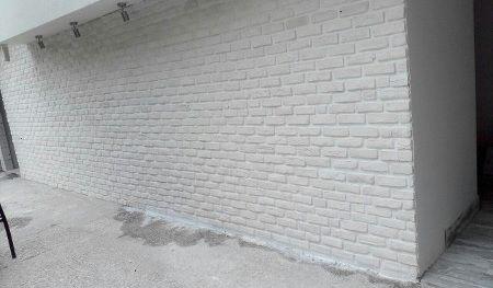 Antik Beyaz Tuğla Duvar Kaplama m2 Fiyatları Uygulamaları