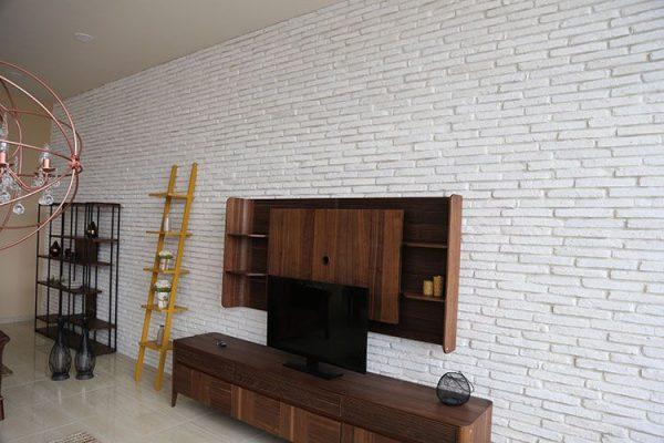 Dekoratif Beyaz Tuğla Duvar Kaplama Modelleri