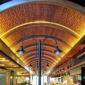 Tonoz Tavan Fiber Tuğla Desenli Duvar Kaplama Panelleri