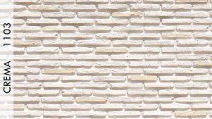 Asur Tuğla Panel Crema - 1103