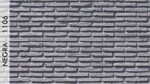 Asur Tuğla Panel Negra - 1106