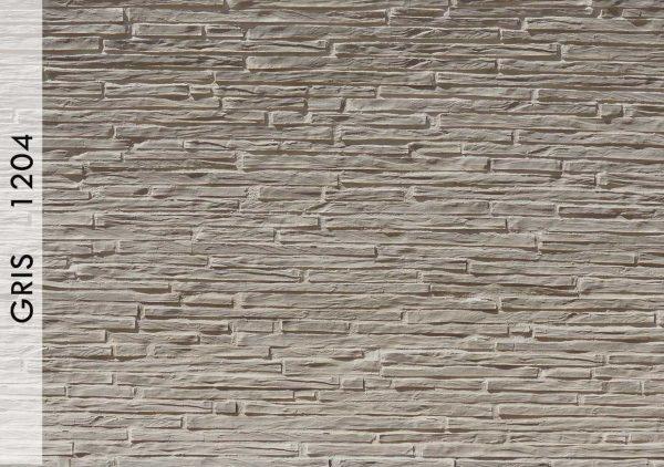 Breccia Ahşap Panel Gris – 1204