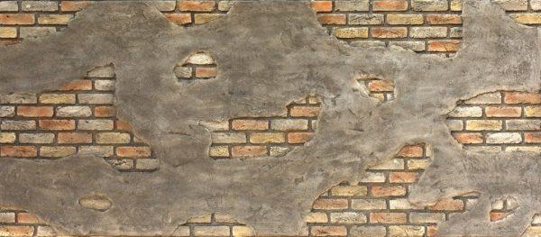 Ladrillo Cemento Tuğla Panel Retro