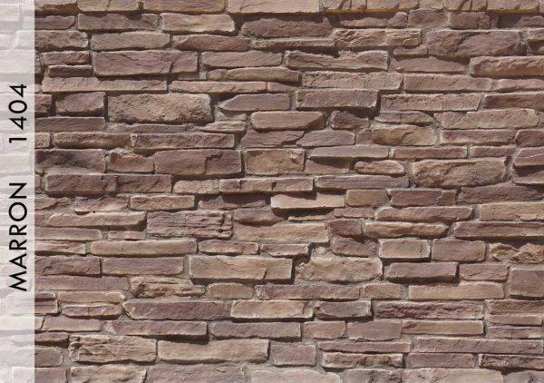 Piedra Taş Panel Marron - 1404