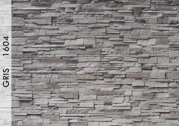 Rotto Taş Panel Gris – 1604