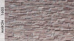 Rotto Taş Panel Maron - 1605