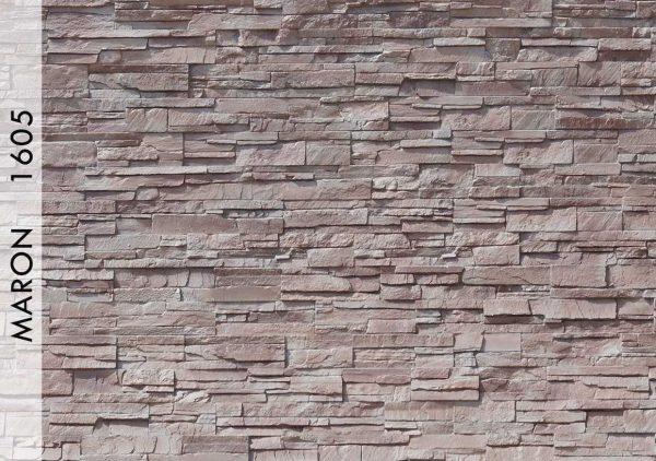 Rotto Taş Panel Maron – 1605
