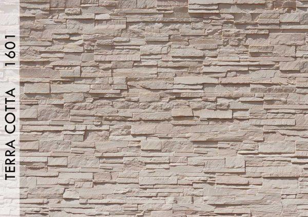 Rotto Taş Panel Terra Cotta - 1601