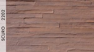 Wood Beton Panel Scuro - 2202