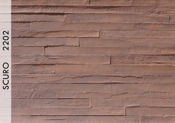Wood Beton Panel Scuro – 2202