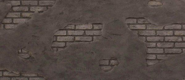 Ladrillo Cemento Tuğla Panel Anthracite