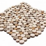 Round Mozaikler 2,5 X 2,5 CM - 1,9 X 1,9