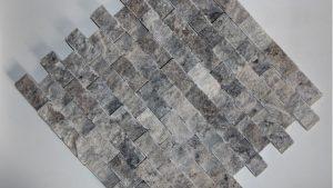 Silver Split Face 23x48