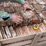 Original historical Ottoman cut bricks