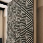 3D Beton Hipnoz Dekoratif Duvar Kaplama Modelii