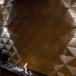 3D Beton dekoratif duvar kaplama modeli Hipnoz