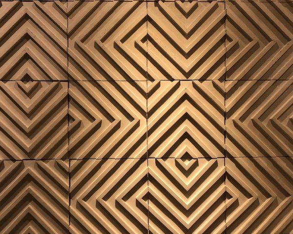 3D Labirinto Beton Panel