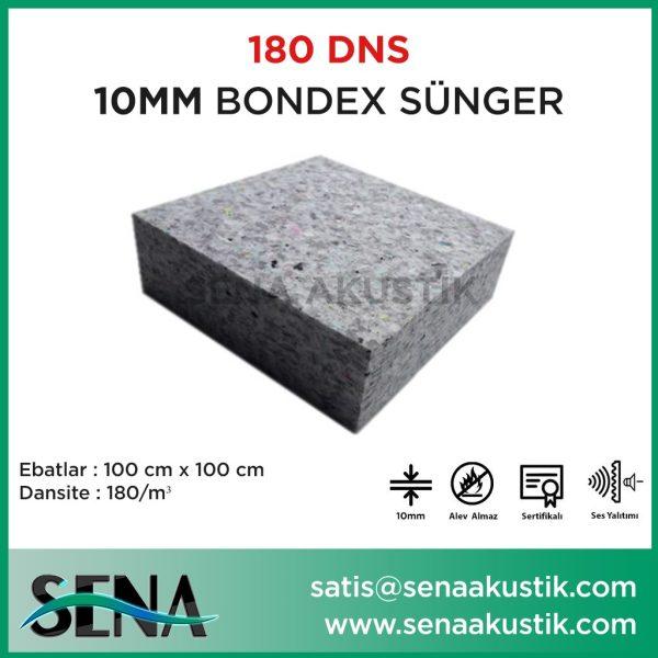 10 mm 180 Dns Yoğunlukta Bondex Ses yalıtım Süngerleri m2 Fiyatları