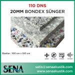 20 mm 110 Dns Yoğunlukta Bondex Ses yalıtım Süngerleri m2 Fiyatları