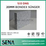 20 mm 120 Dns Yoğunlukta Bondex Ses yalıtım Süngerleri m2 Fiyatları