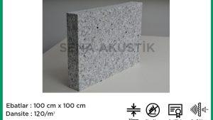 30 mm 120 Dns Yoğunlukta Bondex Ses yalıtım Süngerleri m2 Fiyatları