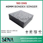 40 mm 180 Dns Yoğunlukta Bondex Ses yalıtım Süngerleri m2 Fiyatları