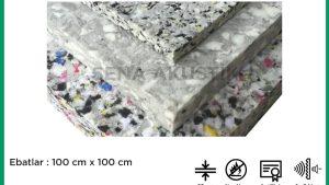 50 mm 110 Dns Yoğunlukta Bondex Ses yalıtım Süngerleri m2 Fiyatları