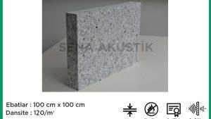 50 mm 120 Dns Yoğunlukta Bondex Ses yalıtım Süngerleri m2 Fiyatları