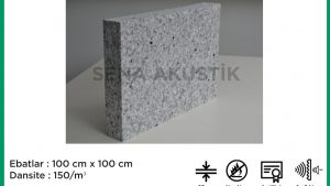 50 mm 150 Dns Yoğunlukta Bondex Ses yalıtım Süngerleri m2 Fiyatları