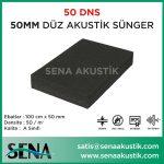 50 mm Düz Akustik Yanmaz Sünger 50 dansite m2 Fiyatları