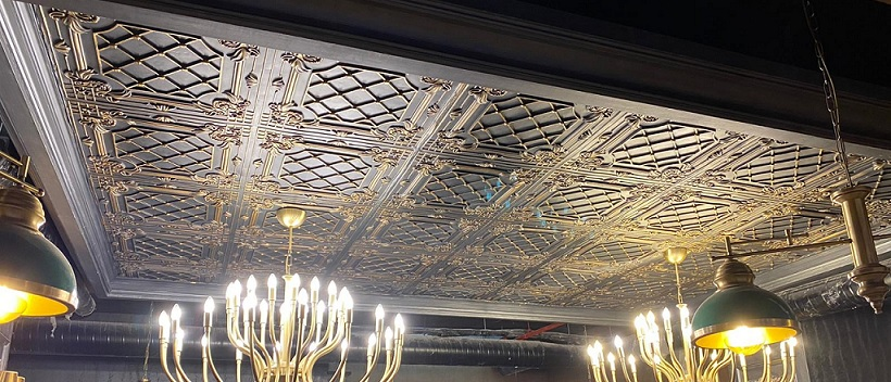 Decorative Fiber Polyester Ceiling Cladding Panels