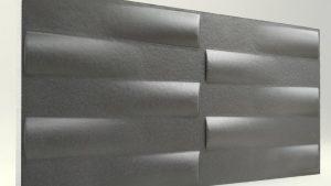 3d Xps Strafor Duvar Panelleri Antrasit
