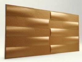 3d Xps Strafor Duvar Panelleri Bakır