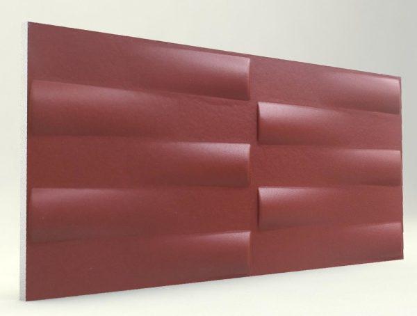 3d Xps Strafor Duvar Panelleri Bordo