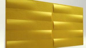 3d Xps Strafor Duvar Panelleri Gold