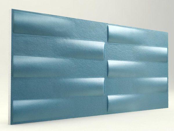 3d Xps Strafor Duvar Panelleri Turkuaz