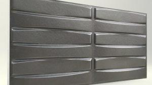 3d strafor duvar panelleri Örgü Antrasit