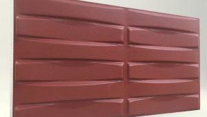 3d strafor duvar panelleri Örgü Bordo