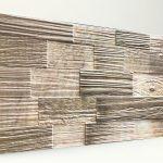 Ahşap Desenli Strafor Duvar Paneli Kütük Açık Meşe Modeli