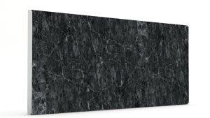 Düz Mermer Desenli Strafor Duvar Panelleri Antrasit Modeli