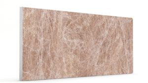 Düz Mermer Desenli Strafor Duvar Panelleri Kiraz Modeli