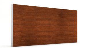Düz Mermer Desenli Strafor Duvar Panelleri Koyu Kahve Modeli