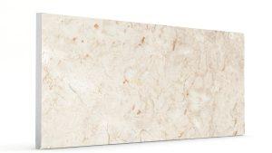 Düz Mermer Desenli Strafor Duvar Panelleri Krem Modeli