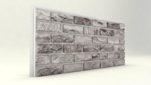 Dış Cephe Tuğla Desenli Strafor Panel Füme Modeli