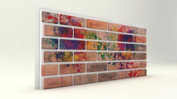 Dış Cephe Tuğla Desenli Strafor Panel Festival Modeli